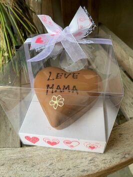 Chocolade mama-hart Demeestere & boeket