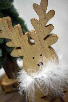 Kerstkonijn Hout