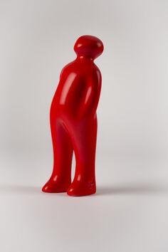 The Visitor (34-Red Urucum black)